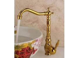 Смеситель для раковины-чаши высокий Art Design G24 DECO GOLD Золото