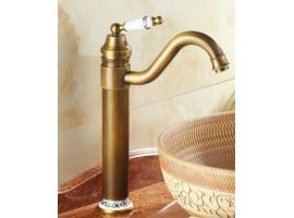 Смеситель для раковины-чаши высокий Art Design G45-2 DECO Бронза