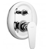 Смеситель для ванны скрытого монтажа Ferro ALGEO BAG7P