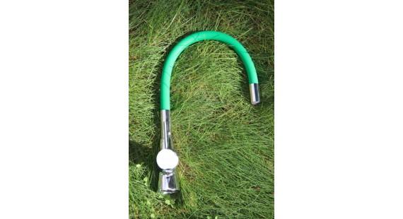 Смеситель для кухни с гибким изливом Germece 37 OP Зеленый photo1