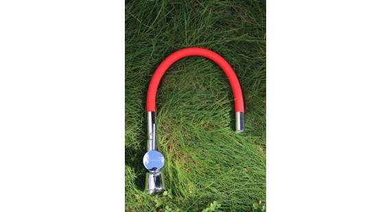 Смеситель для кухни с гибким изливом Germece 37 OP Красный photo1
