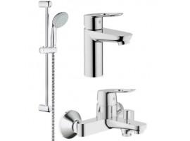 Набор смесителей для ванной Grohe BauLoop 23159000+32816000+28593003