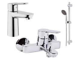 Набор смесителей для ванной Grohe BauEdge 123365
