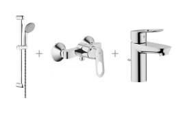 Набор смесителей для ванной Grohe BauLoop 118111
