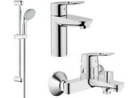 Набор смесителей для ванной Grohe BauLoop 123214