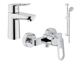 Набор смесителей для ванной Grohe BauLoop 123220