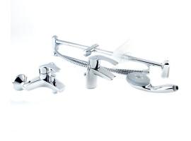 Набор смесителей для ванной Grohe Eurosmart 123238