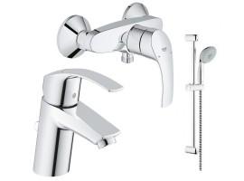Набор смесителей для ванной Grohe Eurosmart 123244