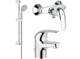 Набор смесителей для ванной Grohe Euroeco 123232