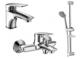 Набор смесителей для ванной Imprese Praha New 05030-10030