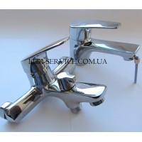 Набор смесителей для ванной Sanarm KROSS