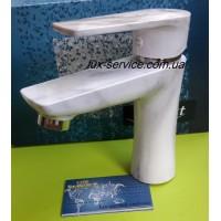 Пластиковый смеситель для раковины PERFEKT Focus мрамор