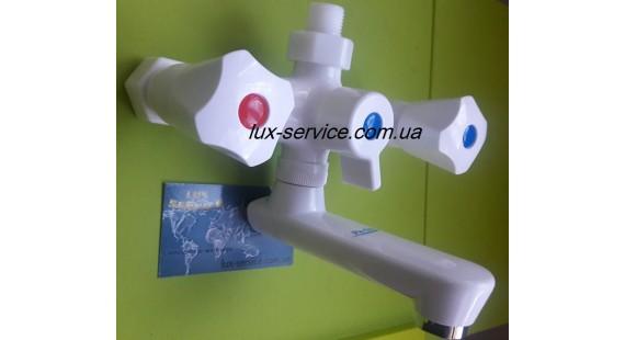 Пластиковый смеситель для ванны  Perfekt Con 10 photo1