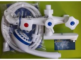 Пластиковый смеситель для ванны  Perfekt Con 10 комплект