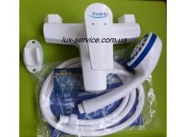 Пластиковый смеситель для ванны  Perfekt комплект