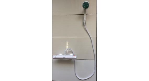 Пластиковый термостатический смеситель для душа PERFEKT Comfort комплект photo1