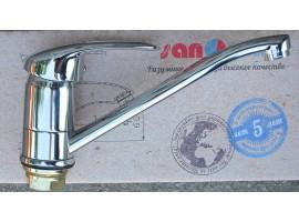 Смеситель для кухни Sanarm Eco NEPTUN 0534 pipe