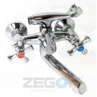 Смеситель для ванны с длинным гусаком Zegor DML3-A827