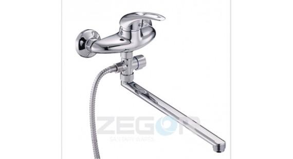 Смеситель для ванны с длинным гусаком Zegor NHK6-B048 photo1