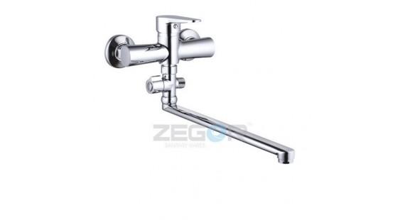 Смеситель для ванны с длинным гусаком Zegor PUD6-A146 photo1
