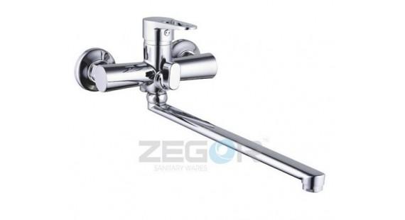 Смеситель для ванны с длинным гусаком Zegor PUD7-A045 photo1
