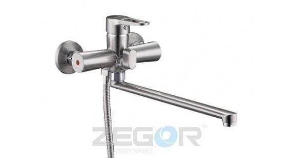 Смеситель для ванны с длинным гусаком Zegor PUD7-A045H photo1