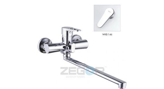 Смеситель для ванны с длинным гусаком Zegor PUD7-A146 photo1