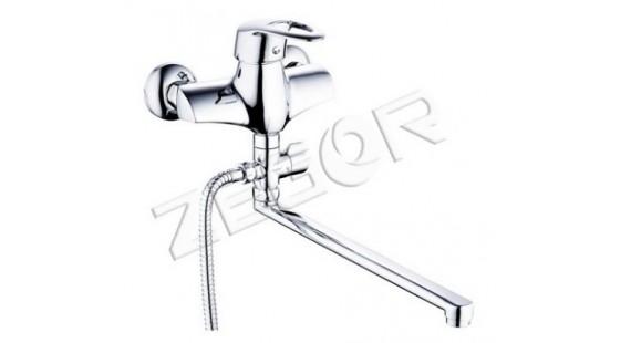 Смеситель для ванны с длинным гусаком Zegor Z63-LFA-A373 photo1