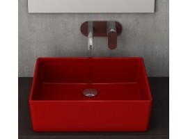 Раковина накладная Bocchi VESSEL 1215-019-0125 красная