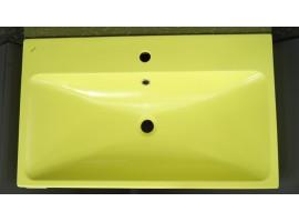 Раковина накладная Bocchi SCALA ARCH 1078-026-0126 матовая лаймовая