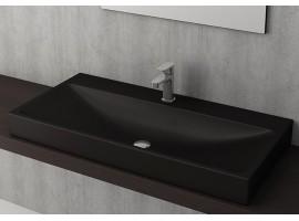 Раковина накладная Bocchi SCALA ARCH 1079-004-0126 матовая черная
