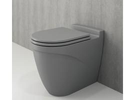 Унитаз напольный Bocchi TAORMINA ARCH 1016-006-0129+А0373-006 серый