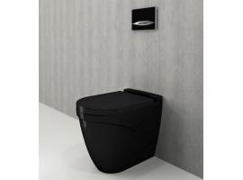 Унитаз напольный Bocchi TAORMINA ARCH 1016-005-0129+А0300-005 черный