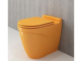 Унитаз напольный Bocchi TAORMINA ARCH 1016-021-0129 желтый