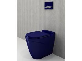 Унитаз напольный Bocchi TAORMINA ARCH 1016-010-0129+А0300-010 синий