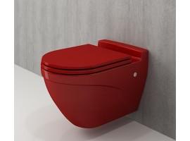 Унитаз подвесной Bocchi TAORMINA ARCH 1012-019-0129 красный
