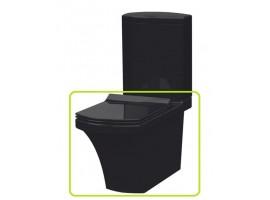 Чаша напольного унитаза IDEVIT Vega 2804-0306-07 черный