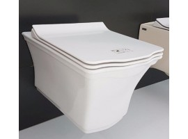 Чаша подвесного унитаза с функцией биде IDEVIT Neo Classic Iderimless 3304-0615