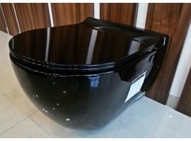 Унитаз подвесной черный NEWARC Modern 3823B