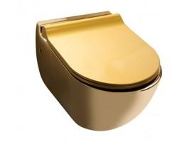 Унитаз подвесной золотой NEWARC Modern 3823G