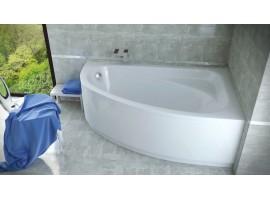 Ванна акриловая Besco CORNEA 140х80 см правая