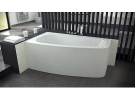 Ванна акриловая Besco LUNA 150х80 см левая