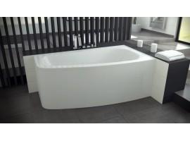 Ванна акриловая Besco LUNA 150х80 см правая