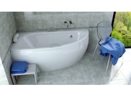 Ванна акриловая Besco MILENA 150х70 см левая