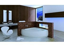 Ванна акриловая угловая Besco LUKSJA 149Х149 см