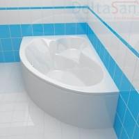 Ванна акриловая Cersanit Kaliope 170х110 левая
