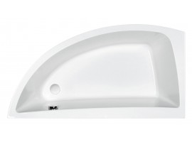 Ванна акриловая Cersanit Nano 140х75 левая