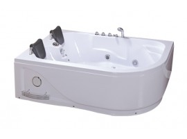 Ванна гидромассажная акриловая 180х120 см Iris TLP-631-L