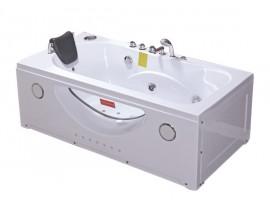 Ванна гидромассажная акриловая 168х85 см Iris TLP-633-G