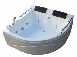 Ванна гидромассажная акриловая 150х150 см KO&PO 007